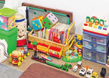 託児所のある美容室 おもちゃ